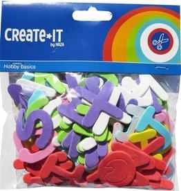 Create-It Haza Create-It Foam Letters 104 stuks