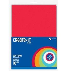 Haza Create-It A4 Foam Assorti 10vel