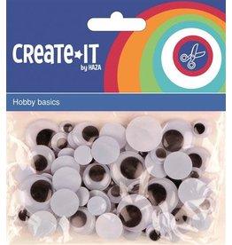 Haza Create-It Bewegende Ogen 75 stuks