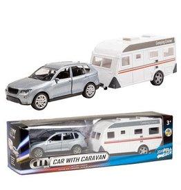 City City Auto met caravan - diecast