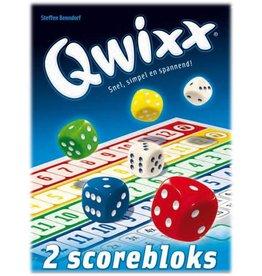 White Gobelin Games White Goblin Games Qwixx Bloks - (extra Scorebloks)