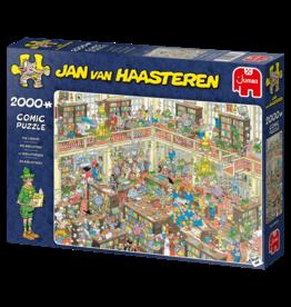 Jumbo Jumbo puzzel Jan van Haasteren 20030 De Bibliotheek 2000 stukjes