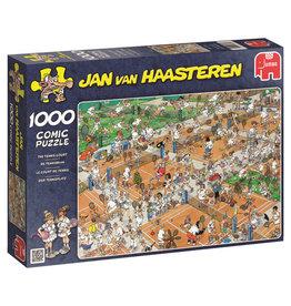Jumbo Jumbo puzzel Jan van Haasteren 17076 De Tennisbaan 1000 stukjes