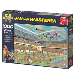 Jumbo Jumbo puzzel Jan van Haasteren Voetbalwaanzin  1000 stukjes