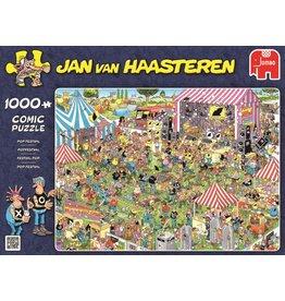 Jumbo Jumbo puzzel Jan van Haasteren  Popfestival 1000 stukjes