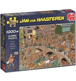 Jumbo Jumbo puzzel Jan van Haasteren Koningsdag 1000 stukjes