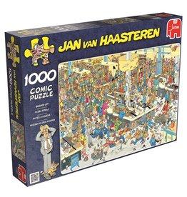 Jumbo Jumbo puzzel Jan van Haasteren  Kassa erbij! 1000 stukjes