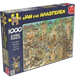 Jumbo Jumbo puzzel Jan van Haasteren Middeleeuwen 1000 stukjes