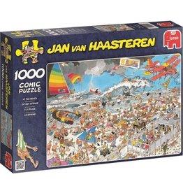 Jumbo Jumbo puzzel Jan van Haasteren Op het Strand 1000 stukjes