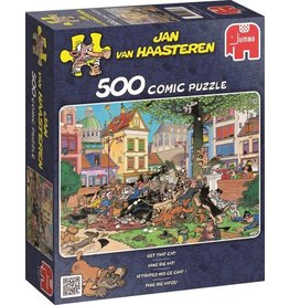 Jumbo Jumbo puzzel Jan van Haasteren Vang die kat! 500 stukjes