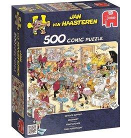 Jumbo Jumbo puzzel Jan van Haasteren Zeebanket 500 stukjes