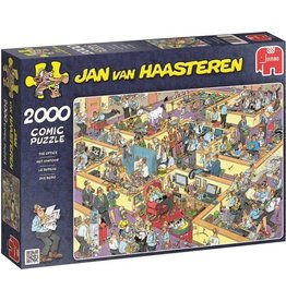 Jumbo Jumbo puzzel Jan van Haasteren 17015 Het Kantoor 2000 stukjes