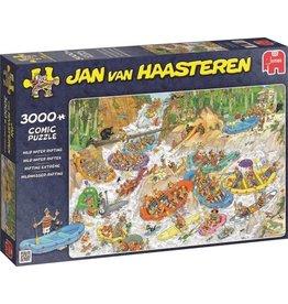 Jumbo Jumbo puzzel Jan van Haasteren 19017 Wild Water Raften 3000 stukjes