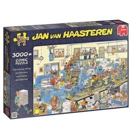 Jumbo Jumbo puzzel Jan van Haasteren 19038 De Drukkerij 3000 stukjes