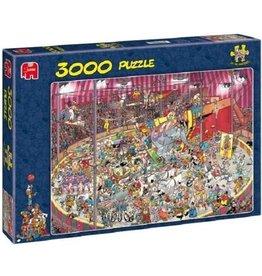 Jumbo Jumbo puzzel Jan van Haasteren 01499 Het Circus 3000 stukjes