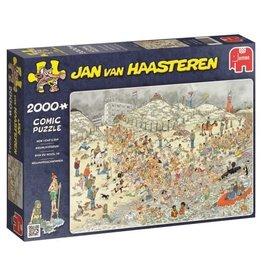Jumbo Jumbo puzzel Jan van Haasteren 19040 Nieuwjaarsduik 2000 stukjes