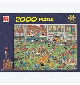 Jumbo Jumbo puzzel Jan van Haasteren 00037 Voetbalkampioenschappen 2000 stukjes