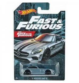 Hot Wheels Hot Wheels diecast Fast&Furious 15 Mercedes AMG GT The Fate of the Furious