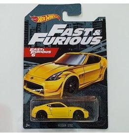 Hot Wheels Hot Wheels diecast Fast&Furious Nissan 370Z Fast&Furious 6