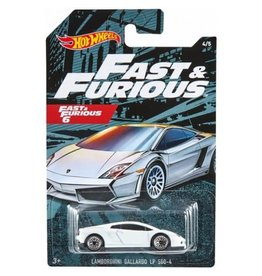 Hot Wheels Hot Wheels diecast Fast&Furious Lamborghini Gallarda LP560-4  Fast&Furious 6