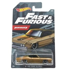 Hot Wheels Hot Wheels diecast Fast&Furious 69 Ford Torino Talladega  Furious 7