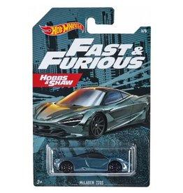 Hot Wheels Hot Wheels diecast Fast&Furious McLaren 720S  Hobbs & Shaw