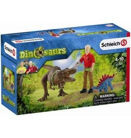 Schleich Schleich Dinosaurs 41465 Tyrannosaurus Rex Aanval
