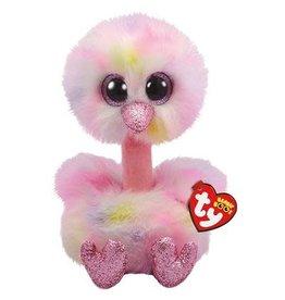 Ty Ty Beanie Boo's XL Avery de Roze Struisvogel 42cm