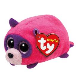 Ty Ty Teeny Ty's Rugger de Roze Wasbeer 10 cm