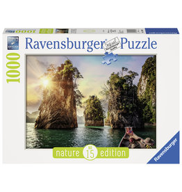 Ravensburger Ravensburger puzzel 139682 Three rocks in Cheow, Thailand  1000 stukjes