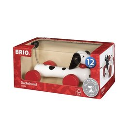 Brio Brio 30404 Trekdier Teckel 60 Jaar - Dachshund 60th Anniversary (Dalmatian)