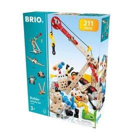 Brio Brio Builder 34588  Activiteitenset  -  Activity Set (211-delig)