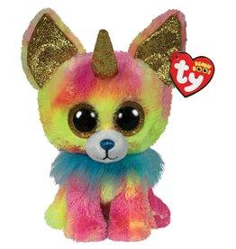 Ty Ty Beanie Buddy Yips de Regenboog Eenhoorn Chihuahua 24cm