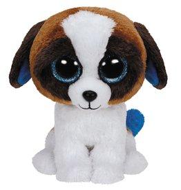Ty Ty Beanie Buddy Duke de Bruin/Witte Hond 24cm