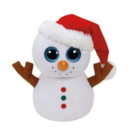 Ty Ty Beanie Buddy Scoop de Sneeuwman 24cm