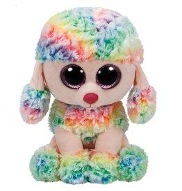 Ty Ty Beanie Buddy Rainbow de Regenboog Poedel  24cm