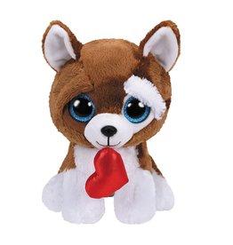 Ty Ty Beanie Buddy Valentine Smootches de Hond 24cm