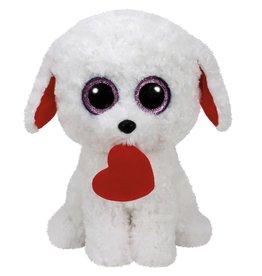 Ty Ty Beanie Buddy Honey Bun de Witte Hond 24cm