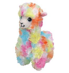 Ty Ty Beanie Babies Lola de Regenboog Alpaca 33cm