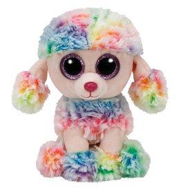 Ty Ty Beanie Boo's Rainbow de Regenboog Poedel 15cm