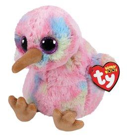 Ty Ty Beanie Boo's Kiwi de Roze Vogel 15cm