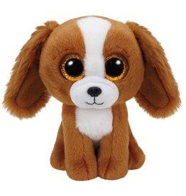 Ty Ty Beanie Boo's Tala de Bruin/Witte Hond 15cm