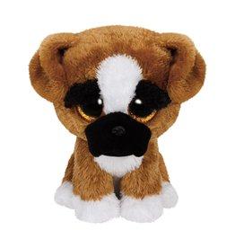 Ty Ty Beanie Boo's Brutus de Boxer Hond 15cm