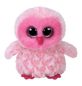 Ty Ty Beanie Boo's Twiggy de Roze Uil 15cm