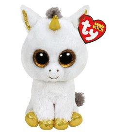 Ty Ty Beanie Boo's Pegasus de Witte Eenhoorn 15cm