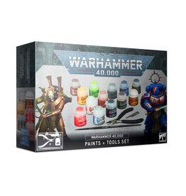 Warhammer Warhammer 40.000 Paints + Tools set