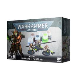 Games Workshop Warhammer 40.000 Warriors + Paints set