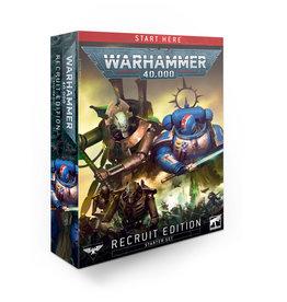 Games Workshop Warhammer 40000  Starterset - Recruit Edition