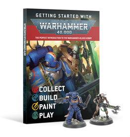 Games Workshop Warhammer 40000 Getting Started with  Warhammer 40K
