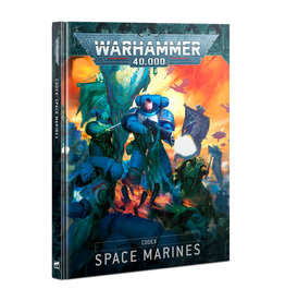 Games Workshop Warhammer 40000 Codex: Space Marines (HB) (Engl)